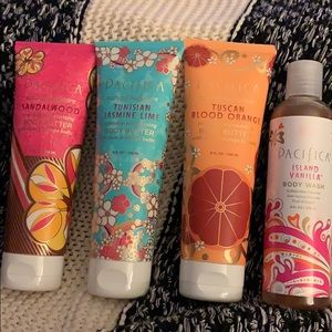 Pacifica body butter and body wash kit - boutique